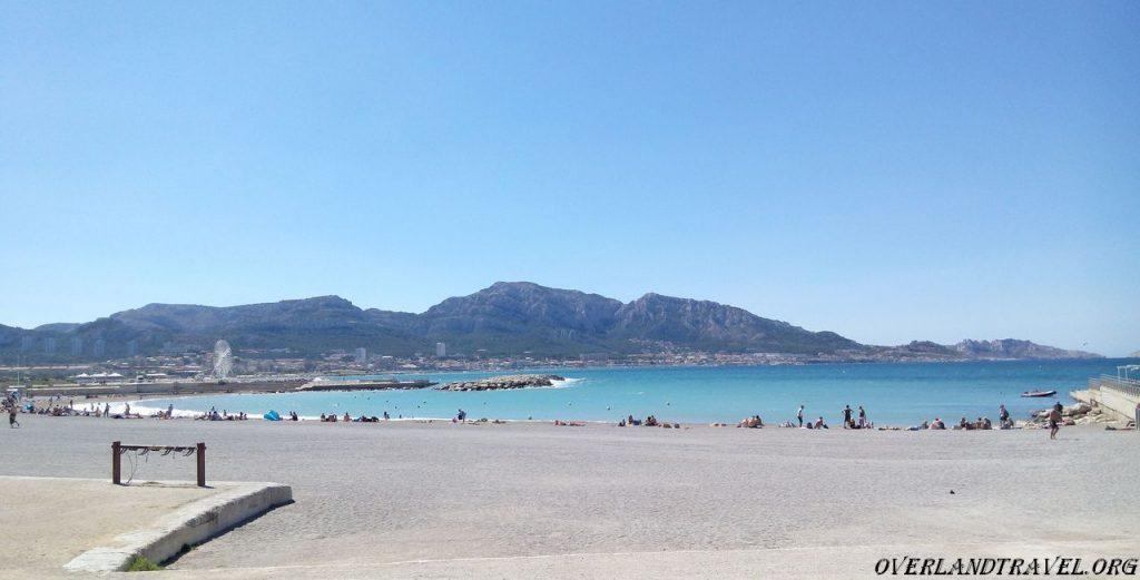 Marseille Prado beach