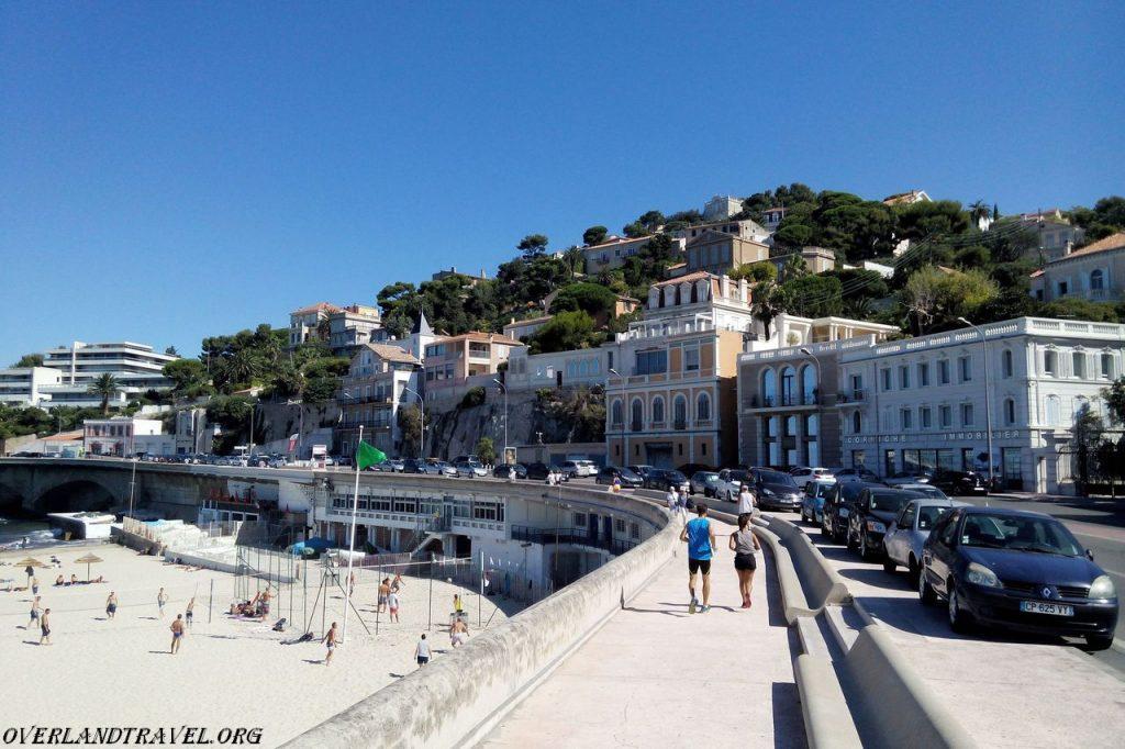 Marseille beach Prophete