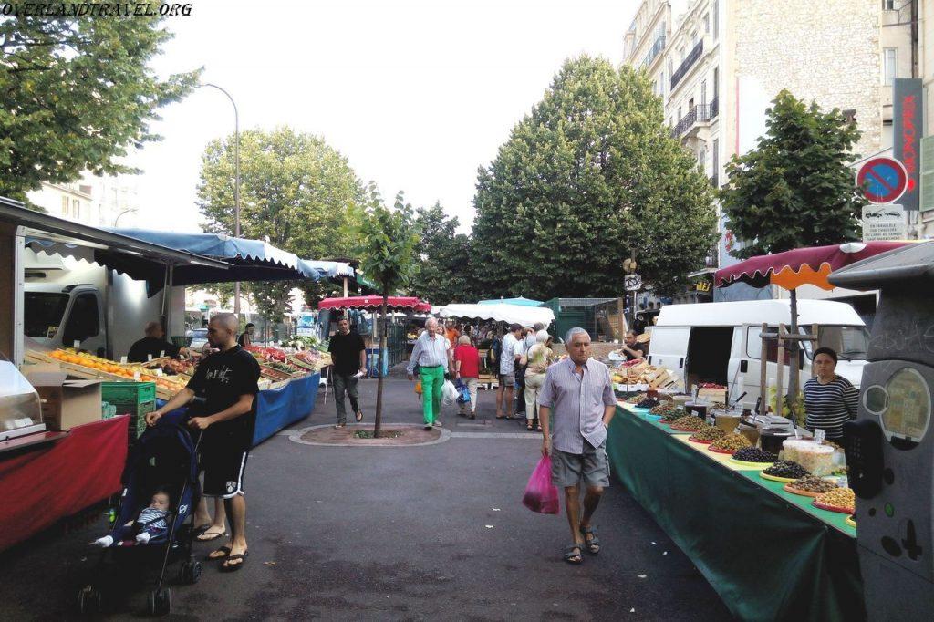 France, Marseille market.