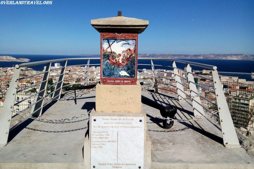 France Marseille Norte Dame de la Garde.