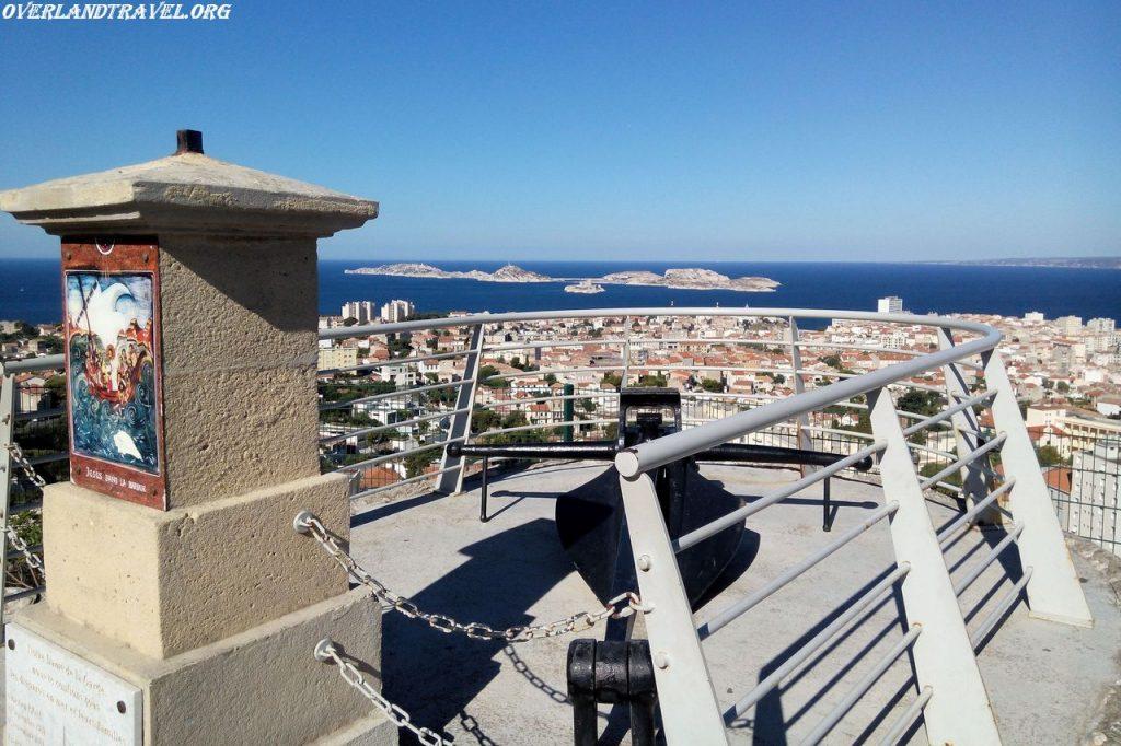 Travel France Marseille Norte Dame de la Garde.