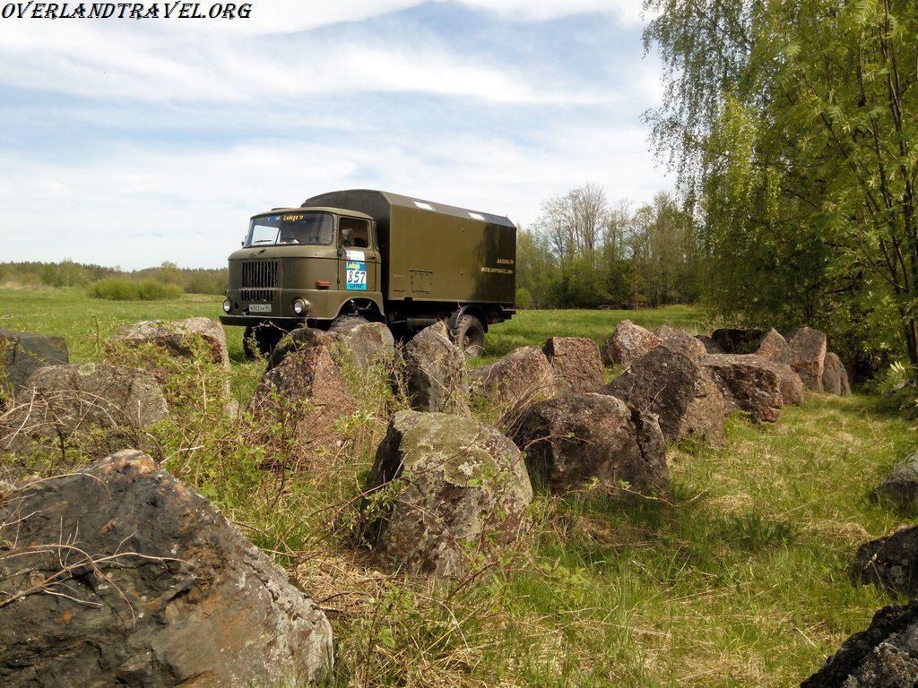IFA-W50LA Karelia Mannerheim Line. ИФА-В50 Карелия Линия Маннергейма