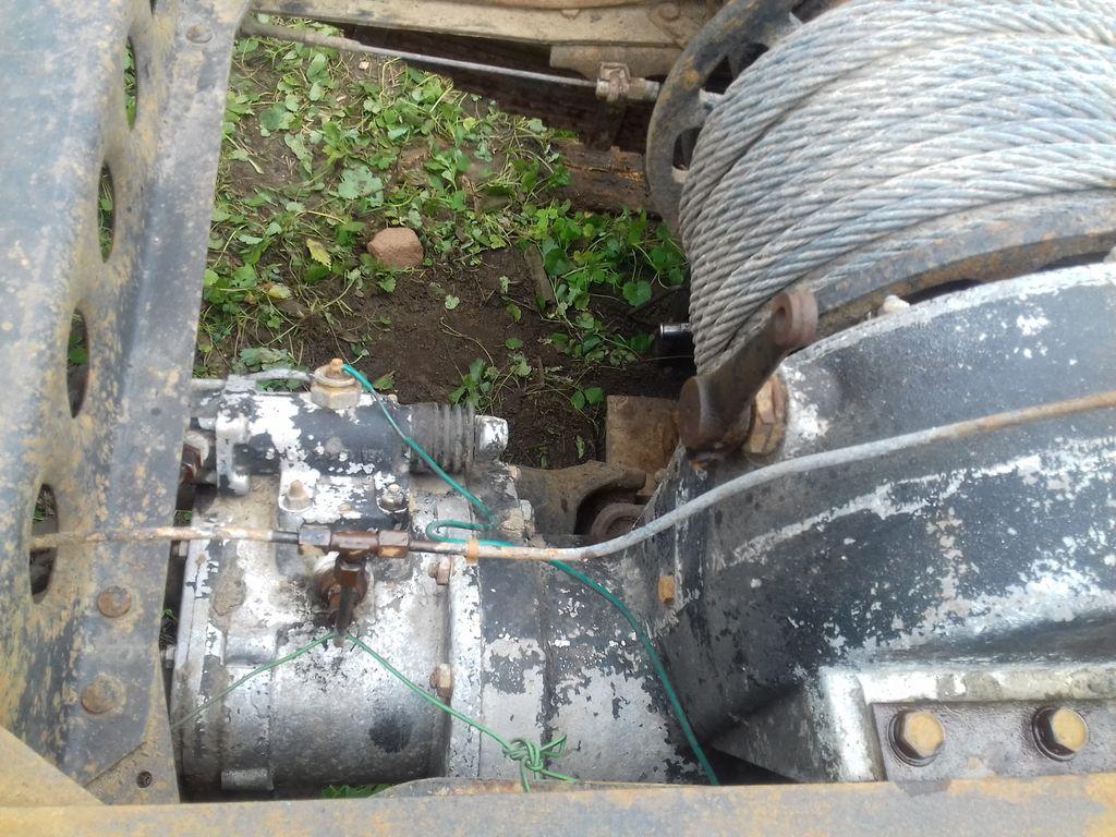 Лебедка грузовика IFA-W50LA часть 2