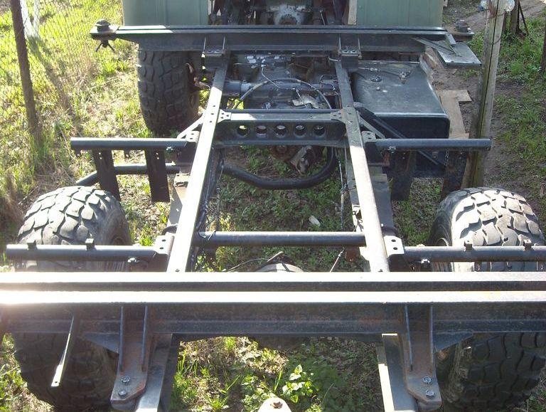 IFA-W50LA крепление КУНГ LAK mount KUNG