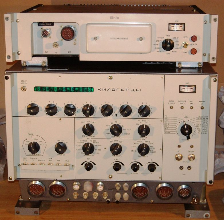 "R-160P ""Sosna"" radio receiver is designed to receive telephone and telegraph radio signals in the HF and VHF"