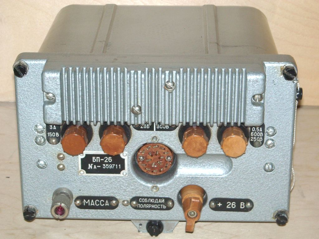 """R-123M """"Magnolia-M"""" - onboard VHF radio station in the range 20.0 - 51.5 MHz The radio operates in simplex mode, has a frequency modulation."""