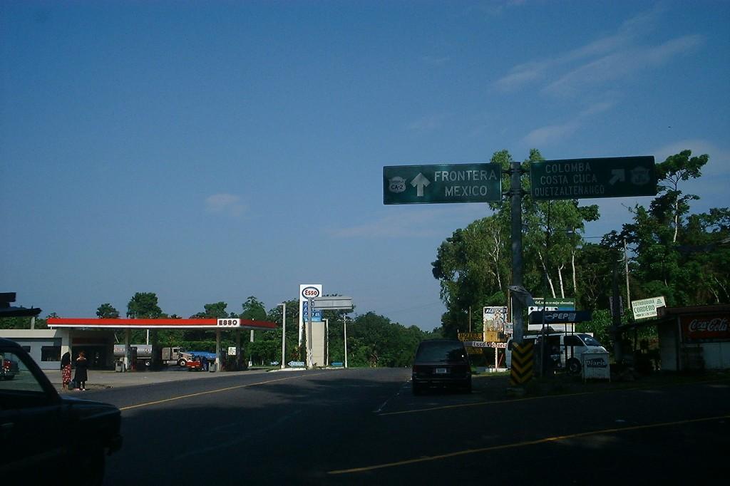 Панамериканское шоссе Гватемала