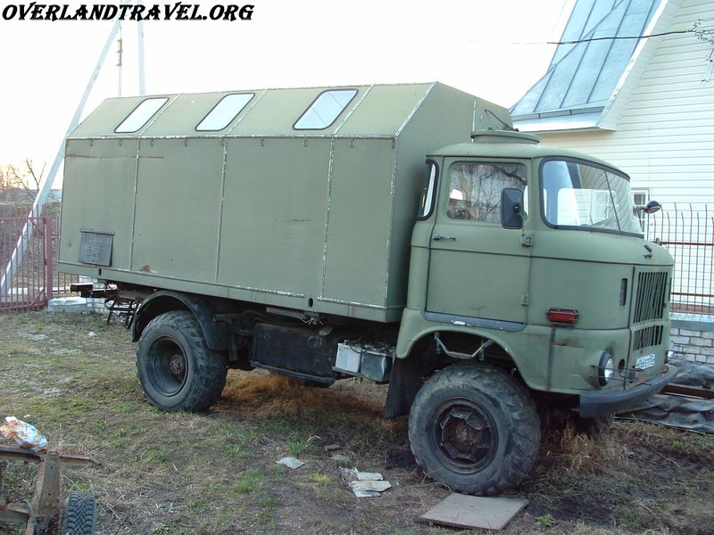 IFA-W50LA КУНГ армейский грузовик 4х4 выпускался в ГДР