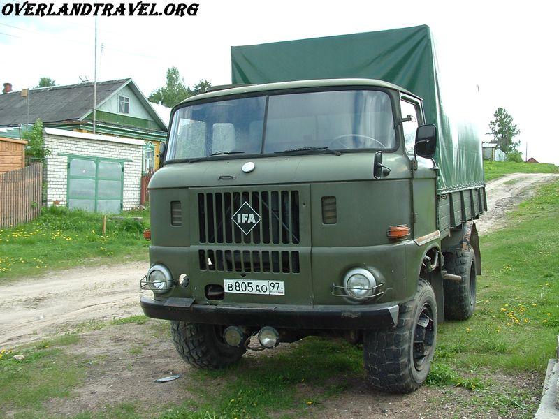 IFA-W50LA бортовой армейский грузовик 4х4 выпускался в ГДР