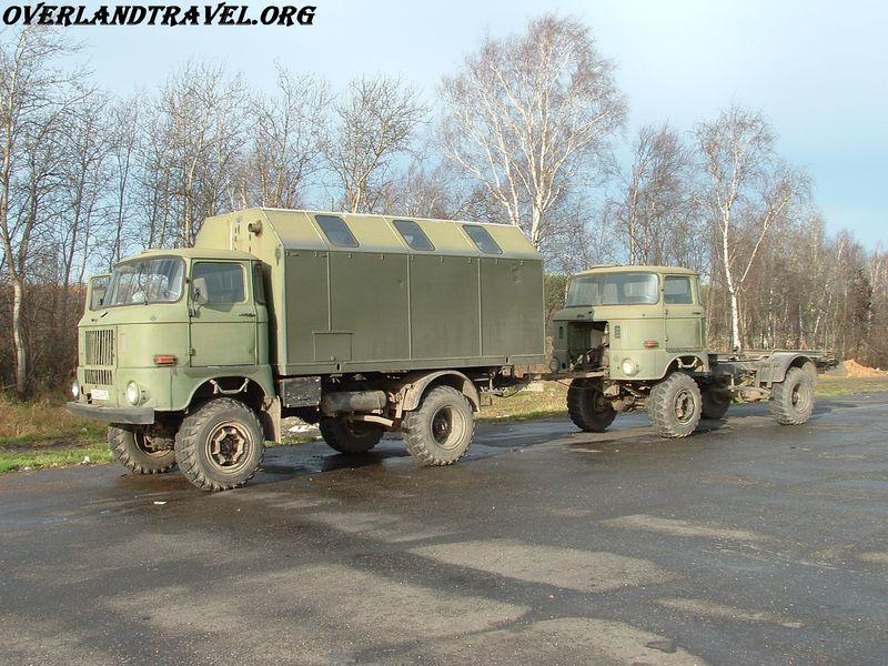 IFA-W50LA шасси армейский грузовик 4х4 выпускался в ГДР