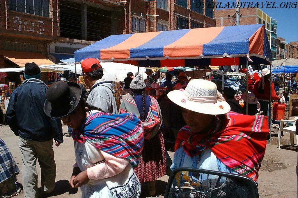 Боливия, городище Тиуанако