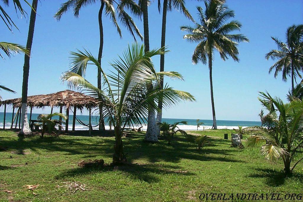 Эквадор, побережье в районе Pedernales, провинция Manabi.