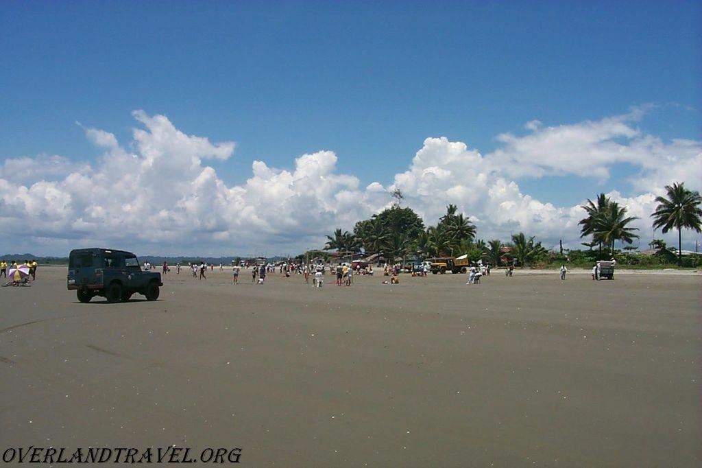 Эквадор, побережье в районе Cojimies, провинция Manabi