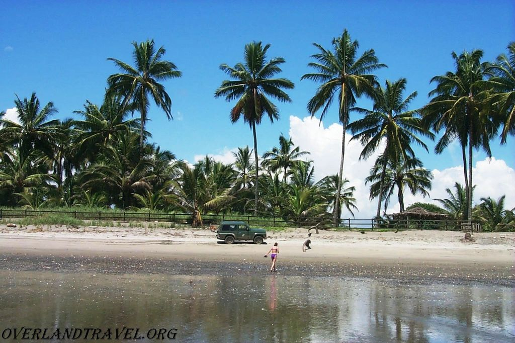 Эквадор, побережье в районе Pedernales, провинция Manabi