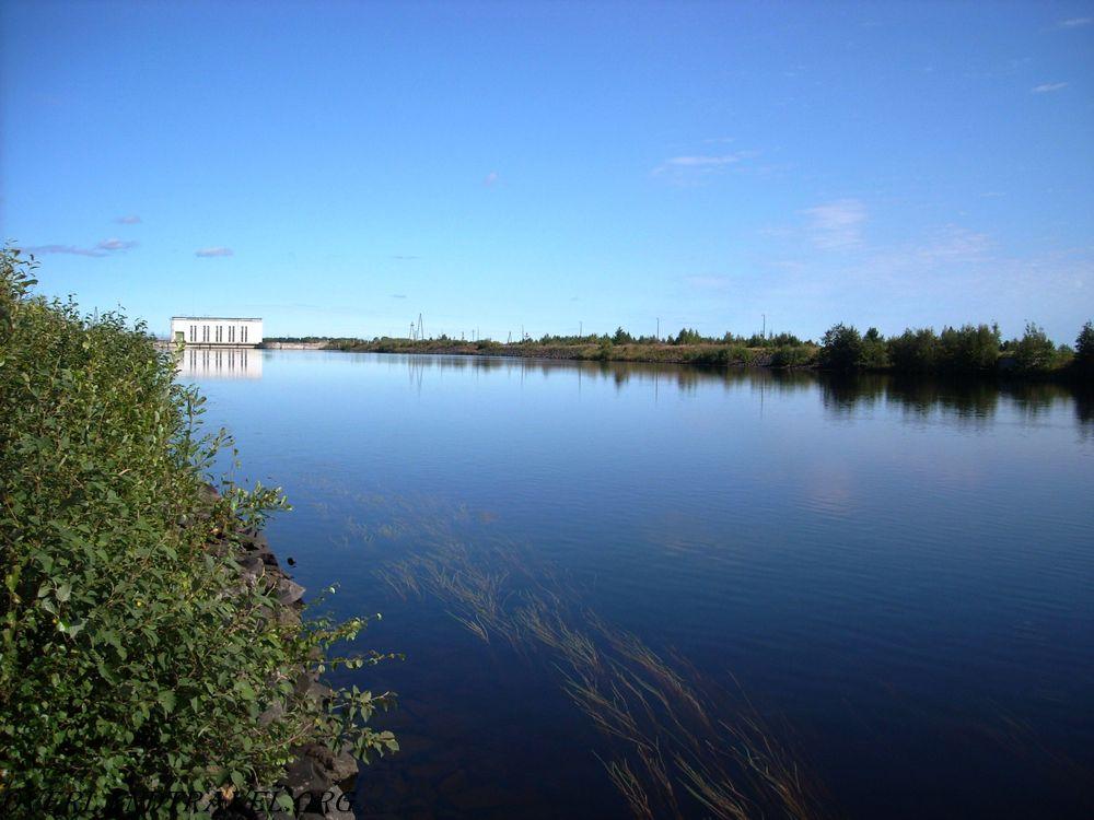 Россия, Республики Карелия. Маткожненская ГЭС.