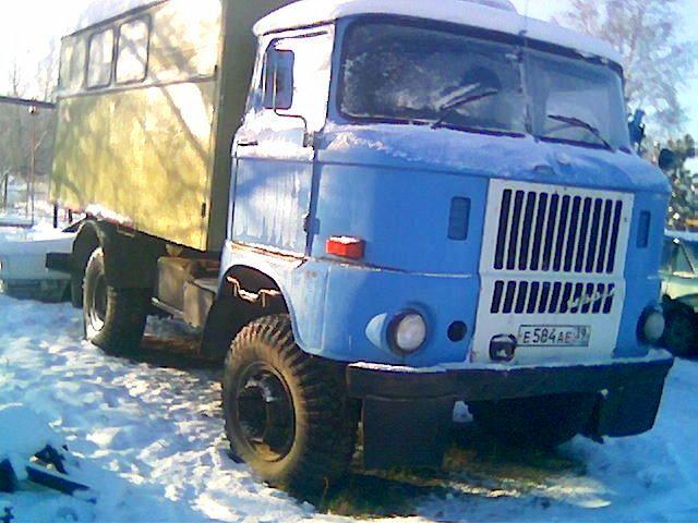 IFA-W50LA Калининградская область.