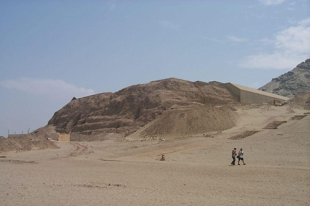 Южная Америка, Перу. Пирамида Луны.