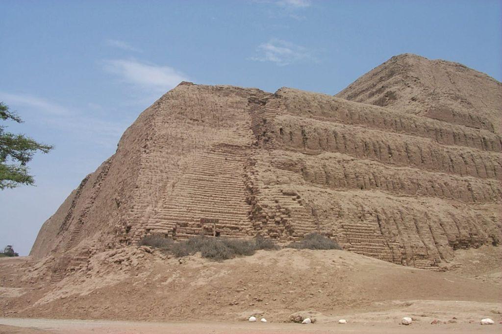 Южная Америка, Перу. Пирамида Солнца.
