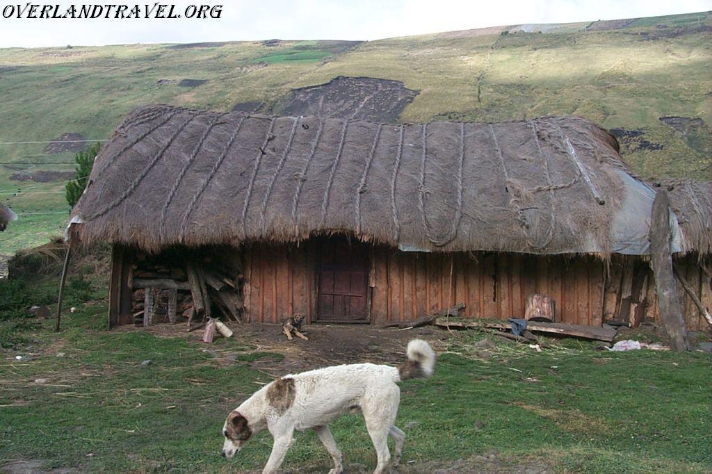 Эквадор, Национальный парк Сангай.