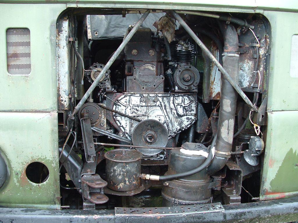 IFA-W50 помпа системы охлаждения, ремонт.