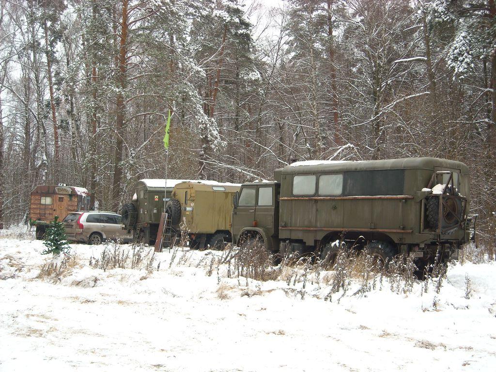 Новый год 2015 Клуб ГАЗ-66