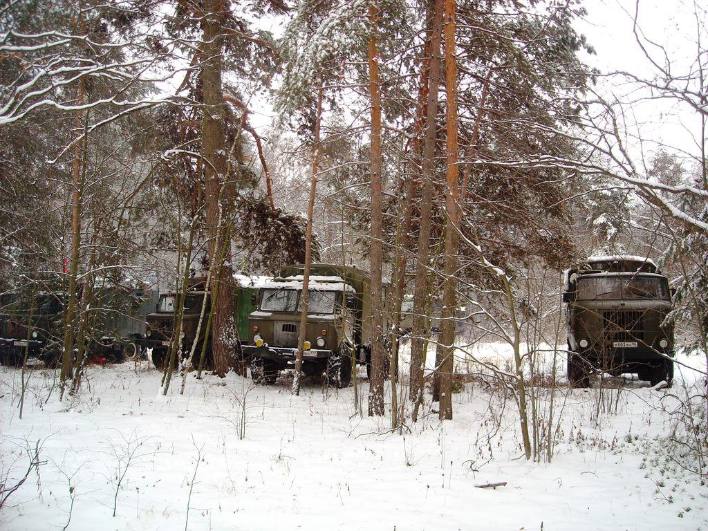 Новый год 2015 Клуб ГАЗ-66 IFA-W50LA