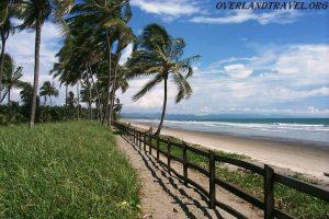 Эквадор, пляж недалеко от города Pedernales.