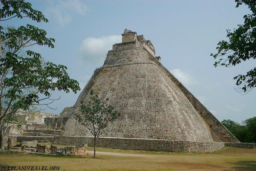 Ушмаль древний город майя в Мексике