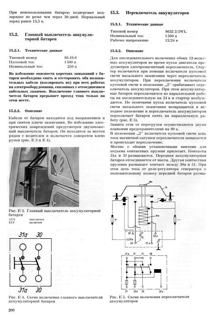 IFA-W50 battery switch