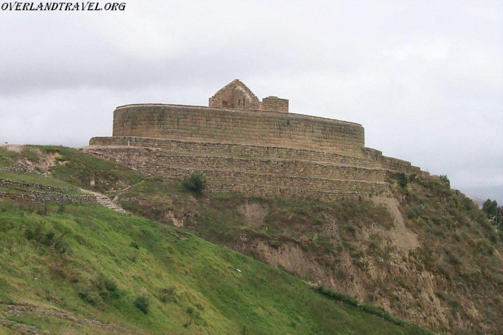 Эквадор, Ингапирка крепость Инков.