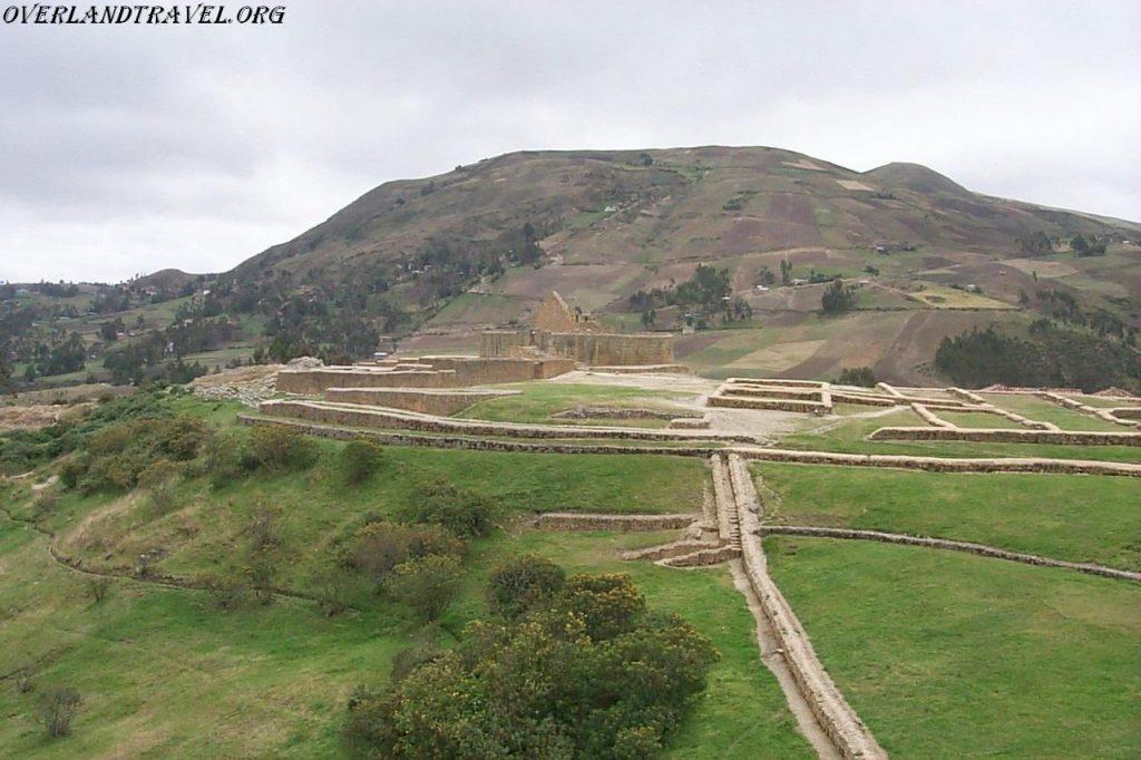 Эквадор, Ингапирка руины крепости Инков.