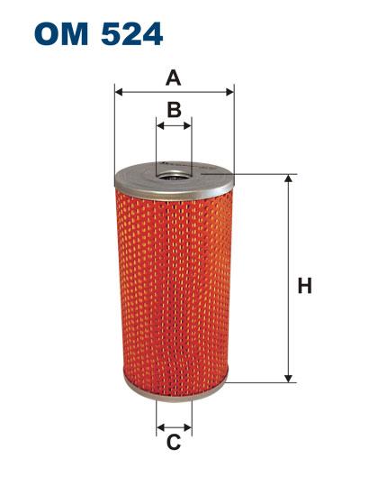 IFA-W50 масляный фильтр FILTRON OM524