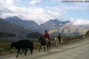 Эквадор, Национальный парк Сангай