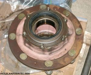 IFA-W50 сальник задняя ступица
