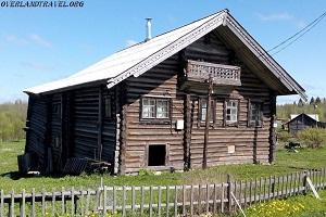 Kinerma Historic Village Republic of Karelia, Russia. overland travel