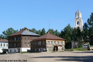 Kologriv small ancient town in Kostroma Oblast. Overland travel Road trip Russia 4x4 WWII