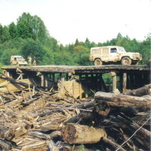 Kostroma region Off Road overland travel 1998