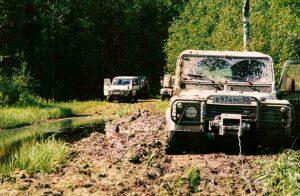 Kostroma region Off Road travel 1998