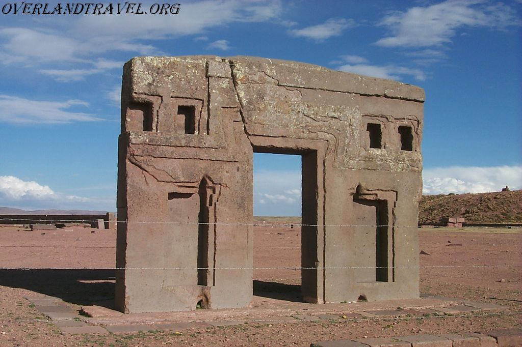Tiwanaku is an important Pre-Columbian archaeological site in western Bolivia.