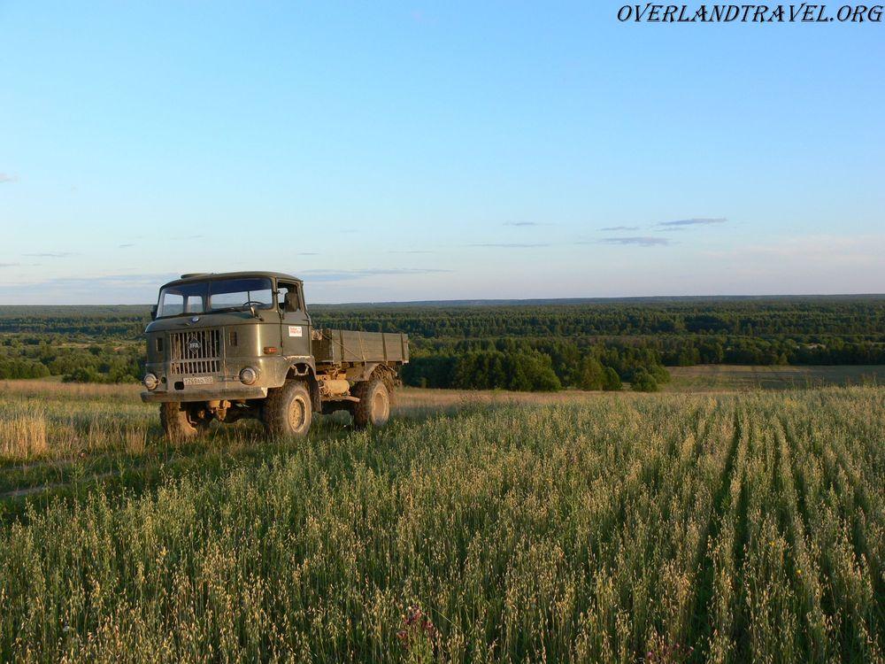 Kostroma region, truck IFA-W50LA.