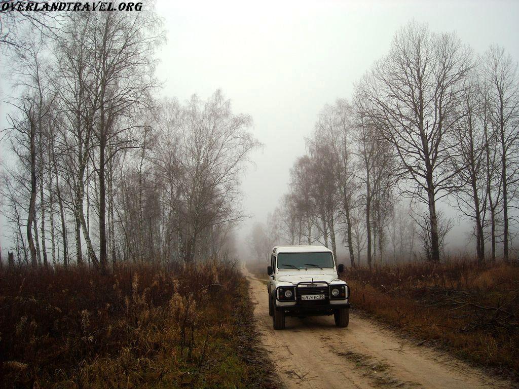Old Smolensk road, section from Smolensk to Vyazma