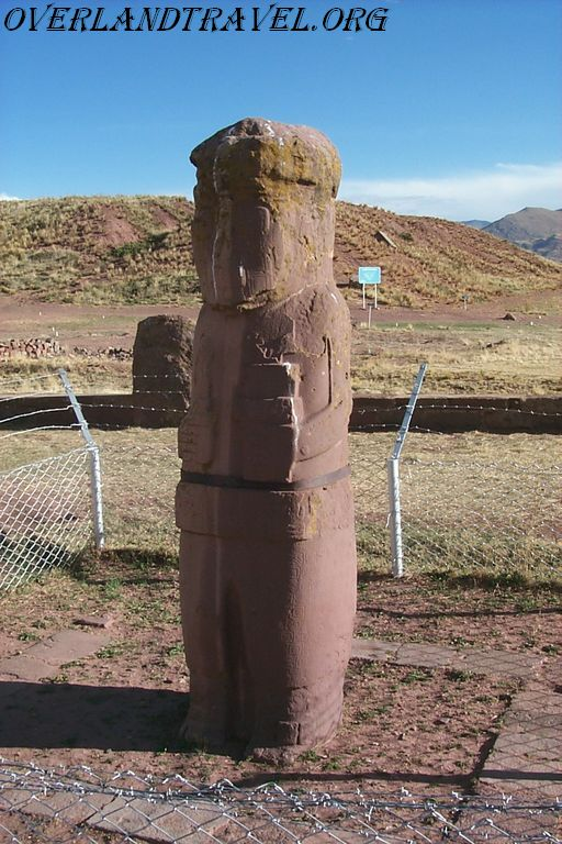 Tiwanaku Pre-Columbian archaeological site in Bolivia