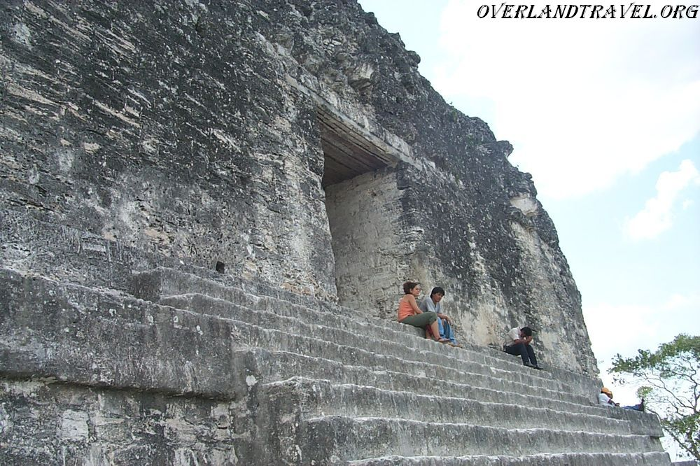 Tikal - one of the largest settlements of the Maya.