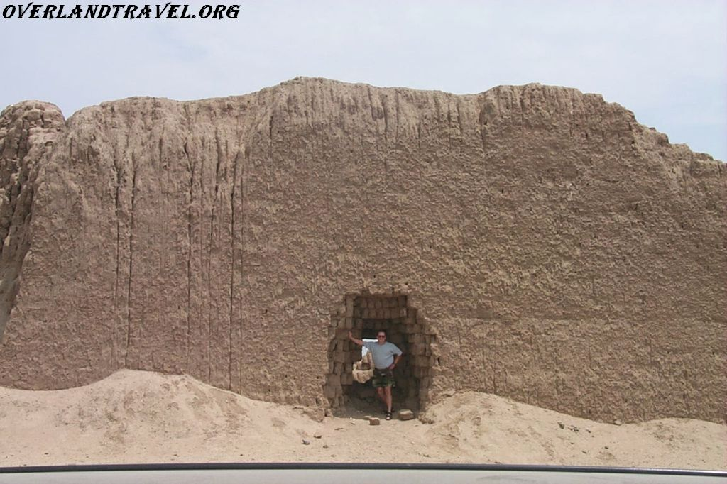 South America, Peru. Clay City Chan Chan.