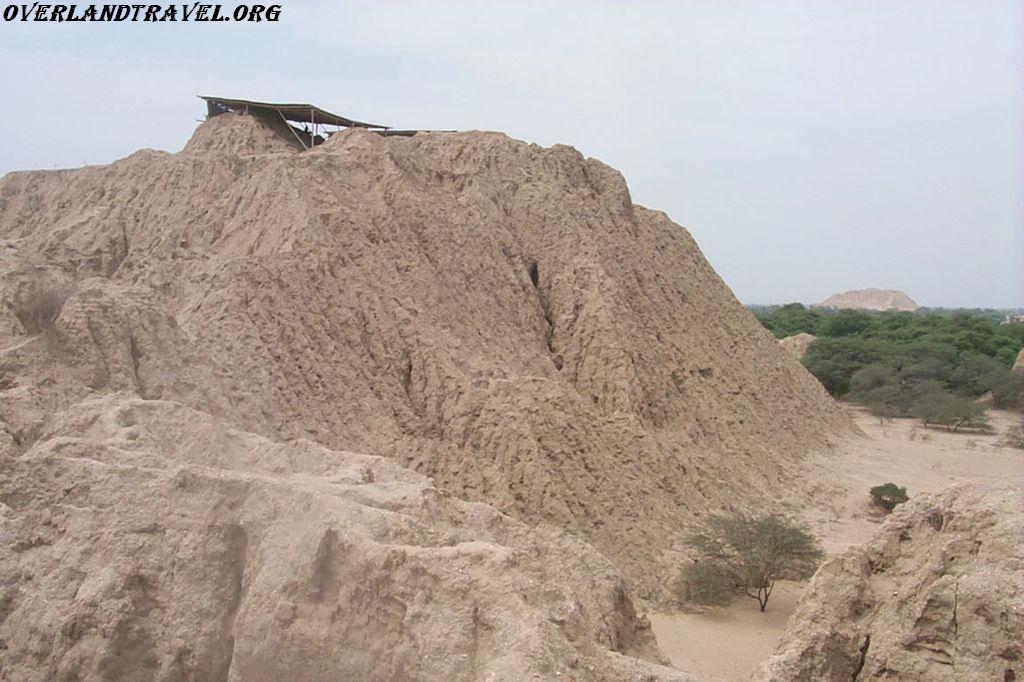 South America Peru Valley pyramids Tucume