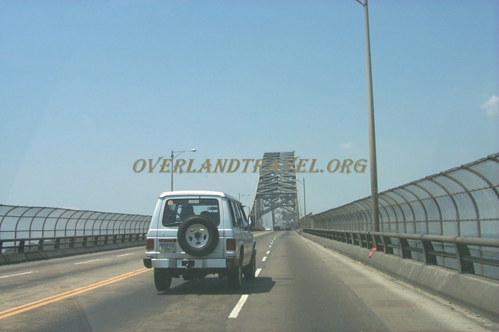 Panama, Bridge of The Americas