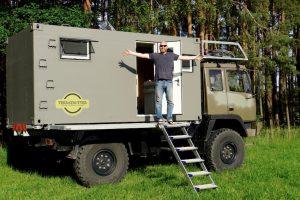 OFF-ROAD MOTORHOME camper overland travel