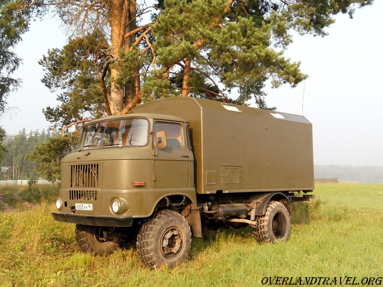 IFA-W50LA 4x4 army truck production GDR, IFA-W50