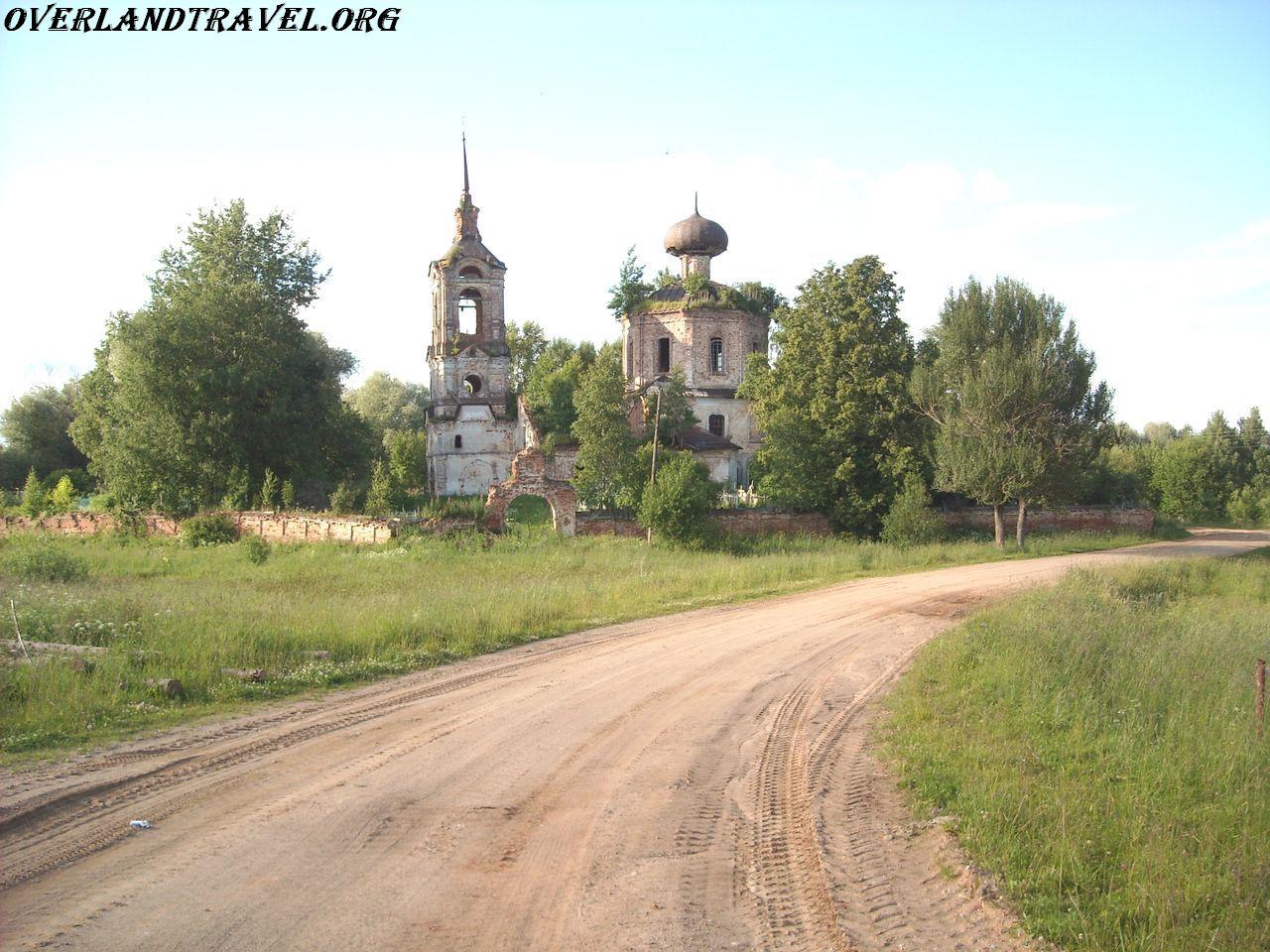 Russia, Valdai overland travel