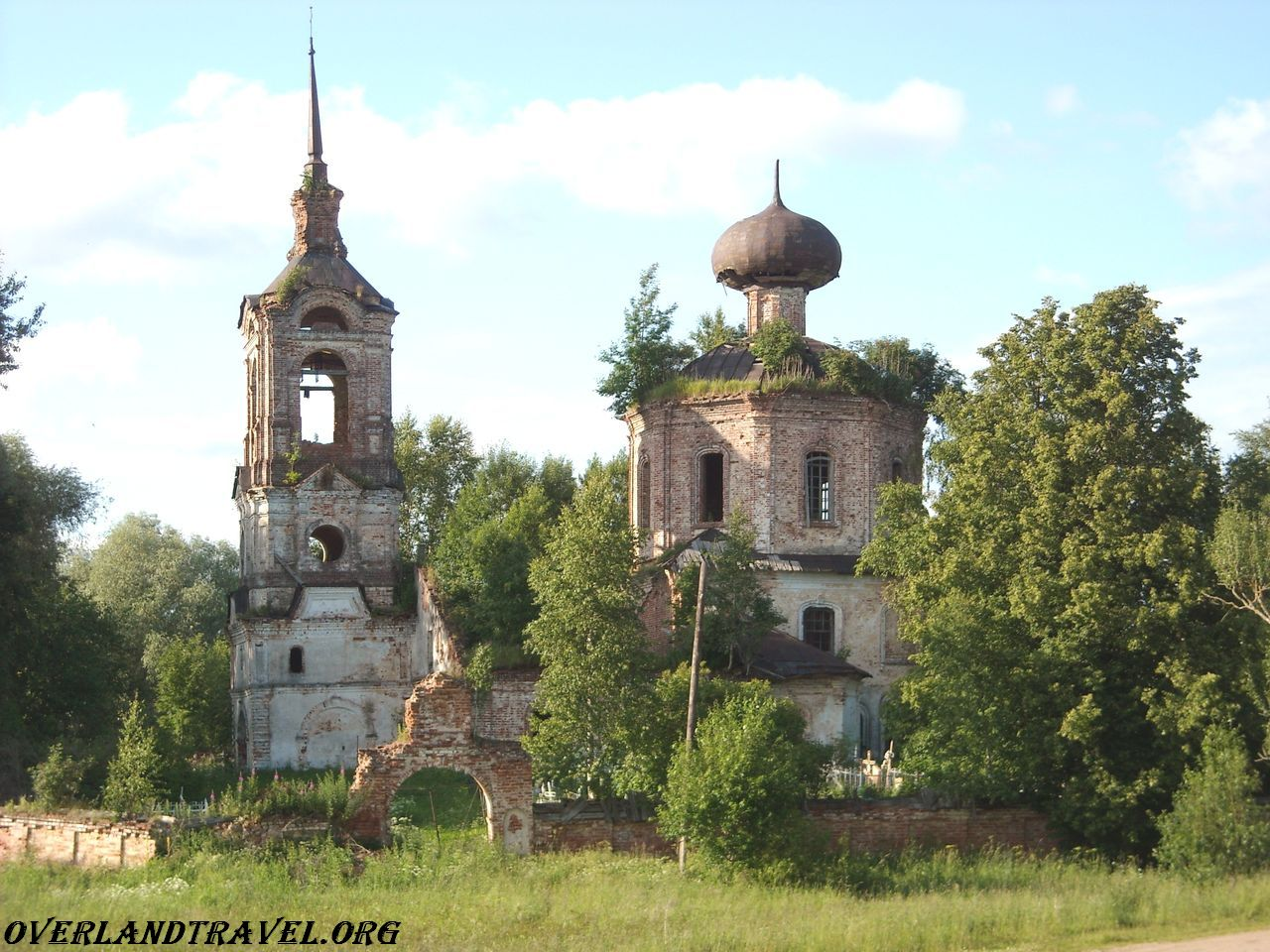 Church of the Dormition of the village of Shchuchye Ostashkov district of Tver region.